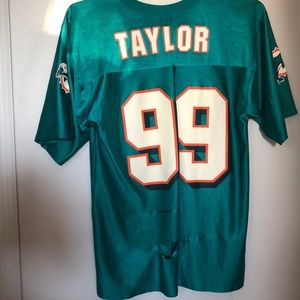 """Miami dolphins """"Taylor 99"""" jersey"""